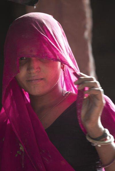inde, l'oeil du voile